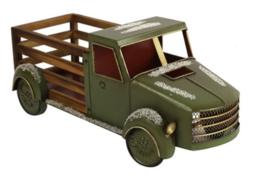 Vrachtwagen Tobias groen