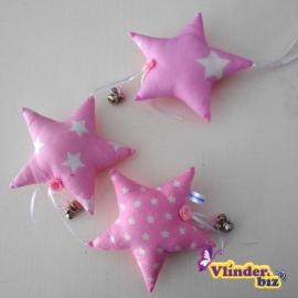 Dromenvanger roze sterretjes