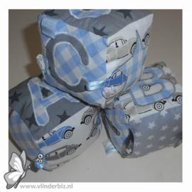 Speelblokken grijs blauw
