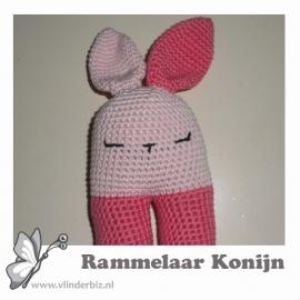 Verkochte rammelaar konijn