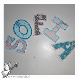 Verkochte letterslingers