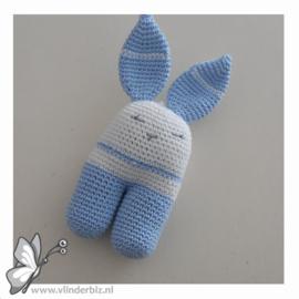 Rammelaar konijn lichtblauw