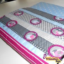 Multomaphoes blauw, grijs en roze