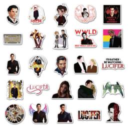 Lucifer Stickers Set (50 stuks)