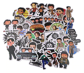 Supernatural Sticker Set B (50 stuks)