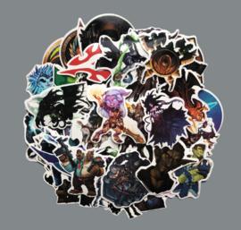 World of Warcraft Sticker Set (50 stuks)