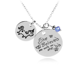 Ketting Unicorn Quote