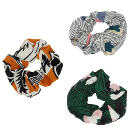 Haar Scrunchie Set Secret Garden