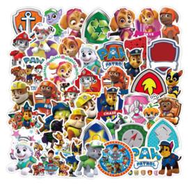 Paw Patrol Sticker Set (50 stuks)