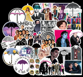 The Umbrella Academy Sticker Set (50 stuks)