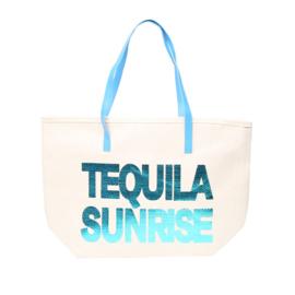 Shopper Tequila Sunrise Blauw