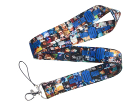 Doctor Who A Lanyard Keycord