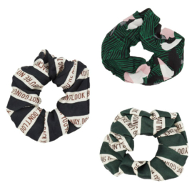 Haar Scrunchie Set Don't Look Back