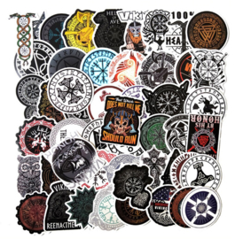 Vikings Sticker Set  (50 stuks)
