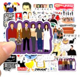 Friends Sticker Set B (50 stuks)