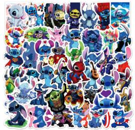 Stitch (Lilo & Stitch) Sticker Set (50 stuks)
