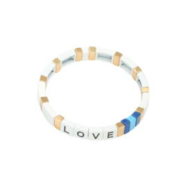 Armband Colourful Love Wit