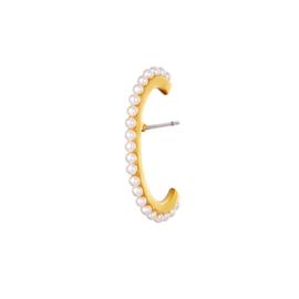 Earcuff Pearls Goud