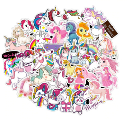 Unicorn Sticker Set (50 stuks)
