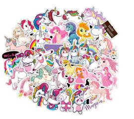 Unicorn Sticker Set (50 stuks)