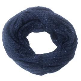 Sjaal  Tube Blauw
