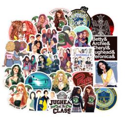 Riverdale Sticker Set A  (50 stuks)