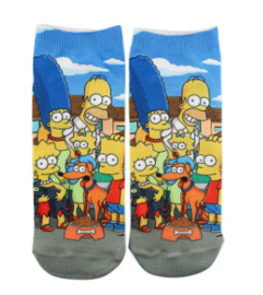 The Simpsons Sneaker Sokken