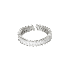 Ring Real Deal Zilver Met Zirconia