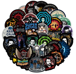 Supernatural Sticker Set A (50 stuks)