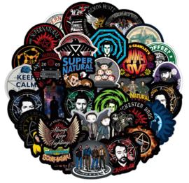 Supernatural Sticker Set A (50 stuks)