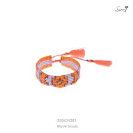 Girls Armband Miyuki Beads Sweet7