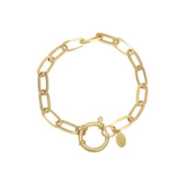 Armband Chain Eve Goud RVS