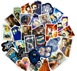 Doctor Who Stickers Set (50 stuks)
