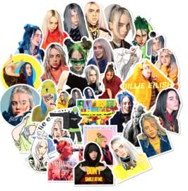 Billie Eilish Sticker Set (50 stuks)