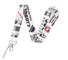 The Big Bang Theory Lanyard Keycord