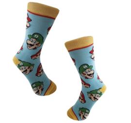 Mario Bros Sokken Blauw