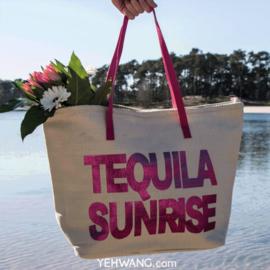 Shopper Tequila Sunrise Roze