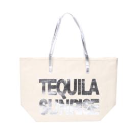 Shopper Tequila Sunrise Zilver