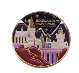 Harry Potter Pin Hogwarts is My Home