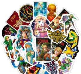 Zelda Stickers Set (50 stuks)  LAATSTE SET!