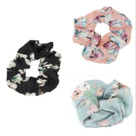 Haar Scrunchie Set Flowers