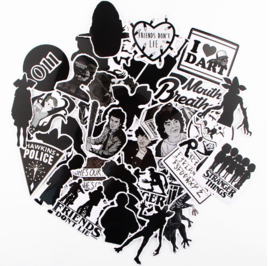 Stranger Things Schaduw Sticker Set  (50 stuks)