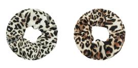 Haar Scrunchies Set Leopard
