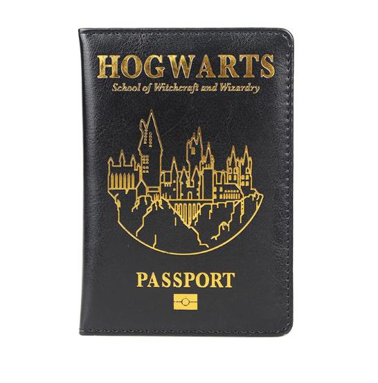 Paspoort hoesje Harry Potter Hogwarts