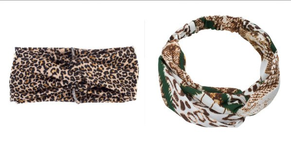 Set Haarbanden Animal Prints