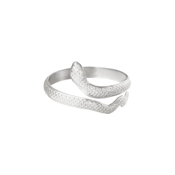 Ring Serpent Zilver RVS
