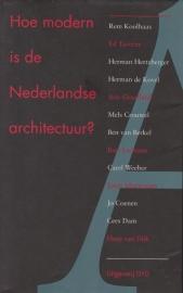 Hoe modern is de Nederlandse architectuur?, Bernard Leupen