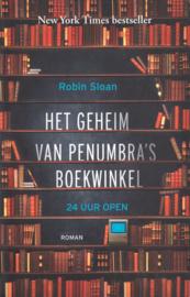 Het geheim van Penumbra's boekwinkel, Robin Sloan