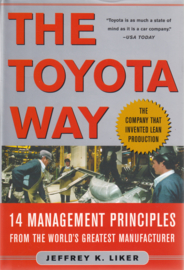 The Toyota Way, Jeffrey K. Liker (hardcover!)