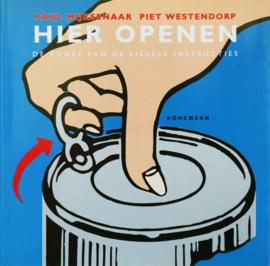 Hier openen, Paul Mijksenaar en Piet Westendorp
